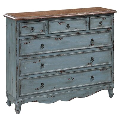 Crestview Collection 6 Drawer Cabinet