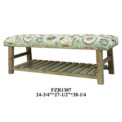Hillcrest Pinewood Bedroom Bench by Crestview