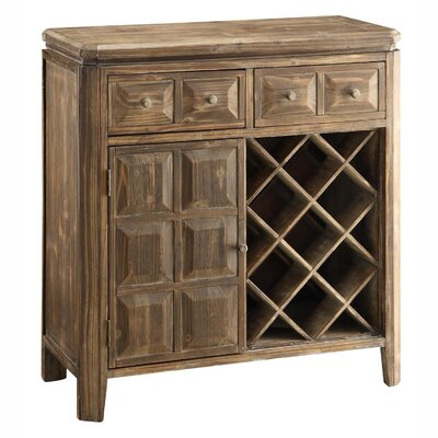 Grand Junction 7 Bottle Wine Cabinet by Crestview