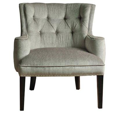 Fifth Avenue Nailhead Arm Chair by Crestview