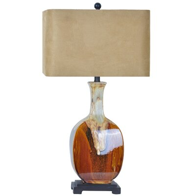 collection chamberlarn 33 h table lamp with rectangular shade. Black Bedroom Furniture Sets. Home Design Ideas