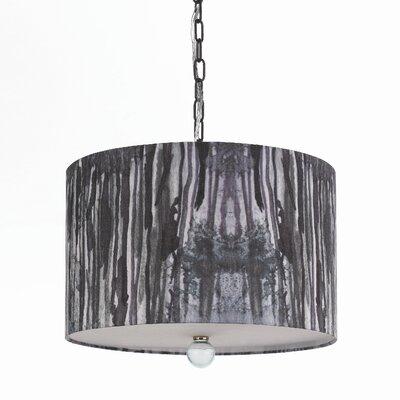 AF Lighting Scenic Trees 3 Light Drum Pendant
