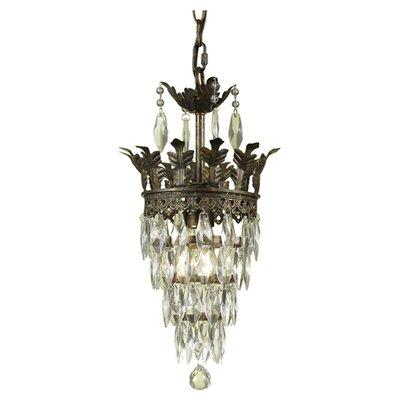 Sovereign 1 Light Mini Chandelier by AF Lighting