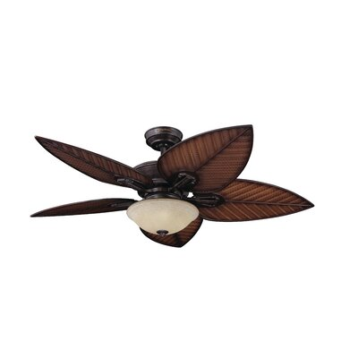 "52"" Cabrillo Cove 5 Blade Ceiling Fan with Wall Remote Product Photo"