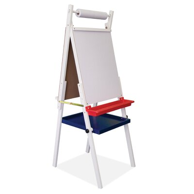 Studio Designs Kids Storage Easel with Paper Roll