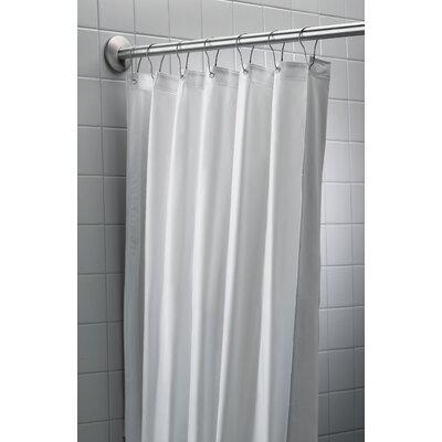 Antimicrobial Nylon/Vinyl Shower Curtain by Bradley Corporation