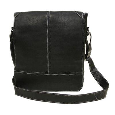 Piel Leather Entrepreneur Messenger Bag