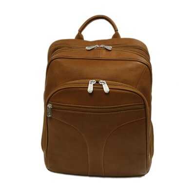 Entrepreneur Checkpoint Friendly Urban Backpack in Saddle by Piel
