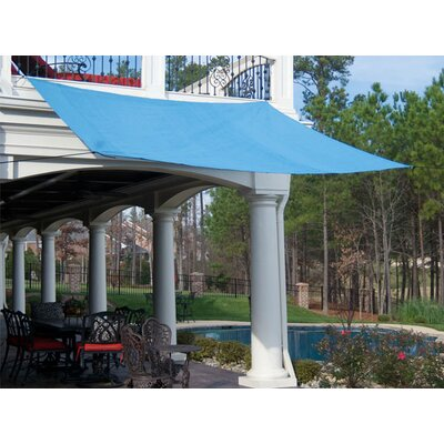 King Canopy Quadrilateral 16ft. x 16ft. Sun Shade Sail