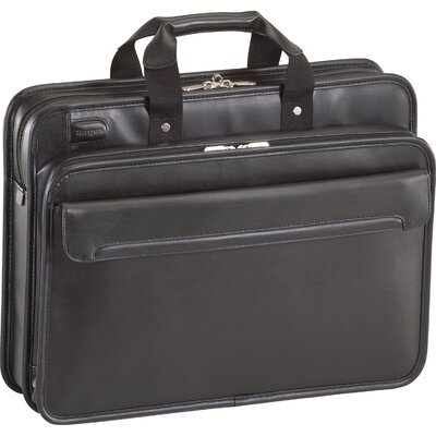 Targus® Leather Laptop Briefcase