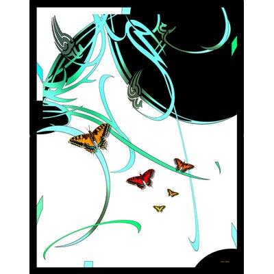 Lama Kasso Butterflies and Beauty Throw