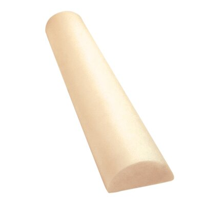 Antimicrobial PE Foam Roller Half-Round by Cando
