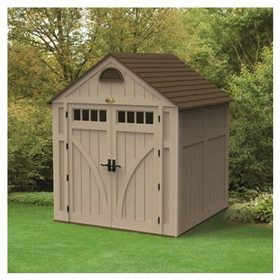 Suncast 7 Ft. W x 7 Ft. D Highland Resin Storage Shed
