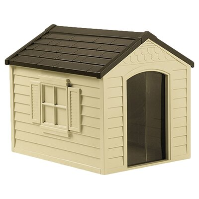 Suncast dog house are designed to be long lasting and offer superior performance. Not only is your pet safe in the durable house, but you can ensure that your dog will be sleeping in style.