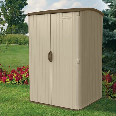 Suncast 5 Ft. W x 4 Ft. D Resin Tool Shed