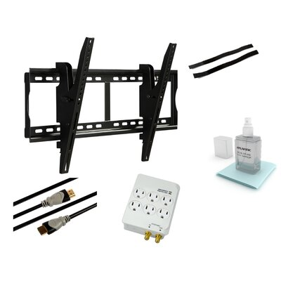 "Tilt & Swivel Wall Mount for 37"" - 70"" Flat Panel Screens Product Photo"