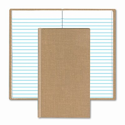 BOORUM & PEASE Handy Size Bound Memo Book, Ruled, 4-3/8 x 7, WE, 96 Sheets/Pad