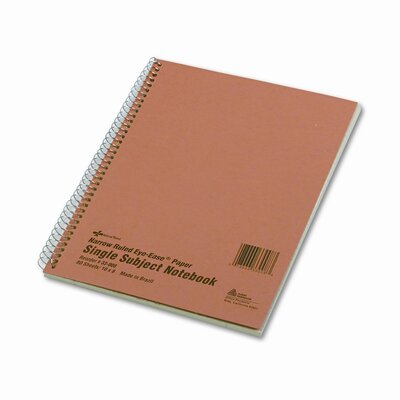 National® Brand Subject Wire bound Notebook, 80 Sheets