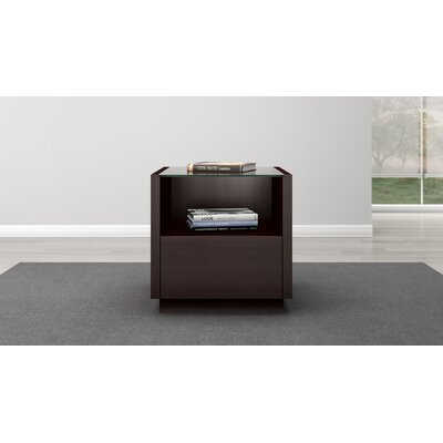 Contemporary End Table by Furnitech