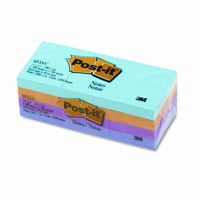 Post-it® Self-Stick Note Pad, 12 Pack