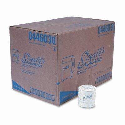Scott Embossed Premium 2-Ply Toilet Paper - 605 Sheets per Roll / 80 Rolls