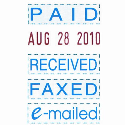 Trodat® Econ Micro 5-In-1 Message Stamp