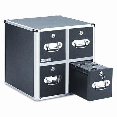 Vaultz® 4 Drawer CD File Cabinet