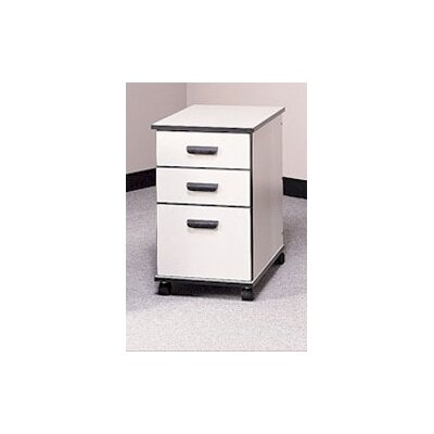 Fleetwood Solutions 3-Drawer Mobile File Cabinet