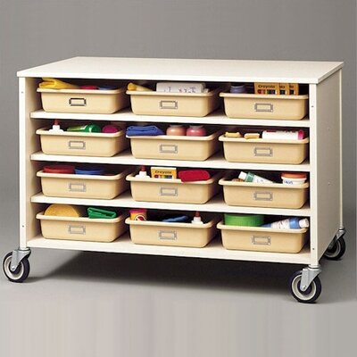 Fleetwood 24 Tray Storage Cart