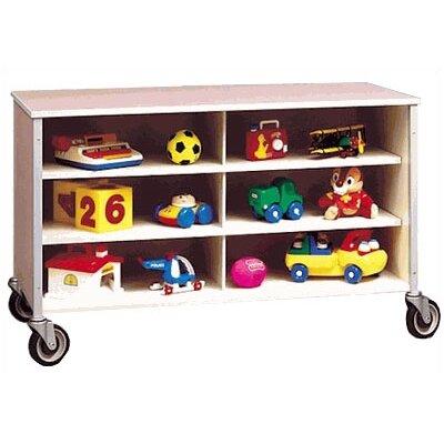 Fleetwood Twelve Cubbby Rolling Storage Cabinet