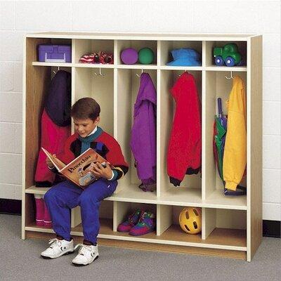 Fleetwood 5-Section Children's Locker