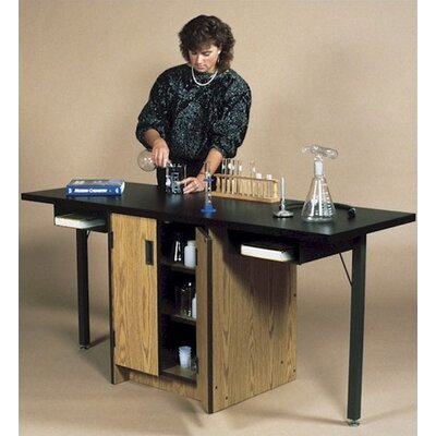 Fleetwood Science Workstation Table with Cupboard