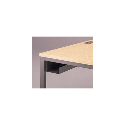 Fleetwood Adjustable Height Training Table with J-Trough Wire Management and Square Corners