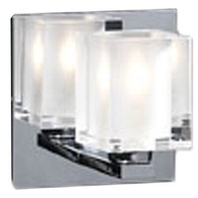 PLC Lighting Glacier  1 Light Wall Sconce