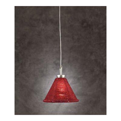 PLC Lighting Belmondo 1 Light Mini Pendant