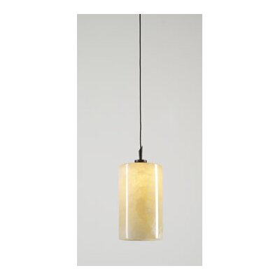 Cylindro 1 Light Mini Pendant by PLC Lighting