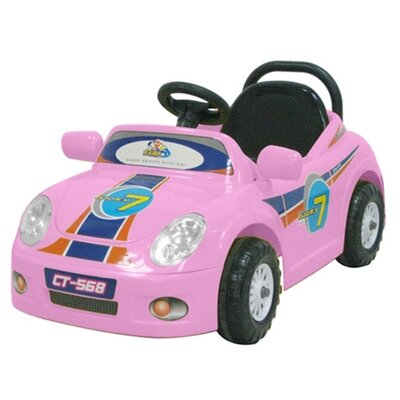 CTM Homecare Product, Inc. Luxurious 6V Battery Powered Car