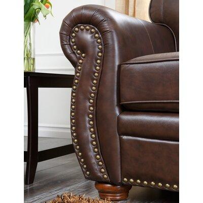 Abbyson Living Palazzo Leather Sofa Amp Reviews Wayfair