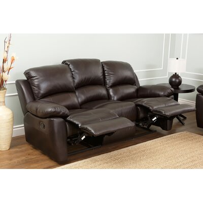 Abbyson Living Furniture Reviews : Abbyson Living Westwood Leather Reclining Sofa & Reviews ...