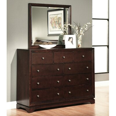 Donohue 9 Drawer Dresser With Mirror by Abbyson Living