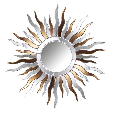 Ava Round Wall Mirror by Abbyson Living