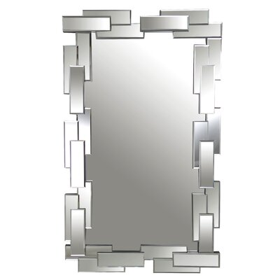 Freya Rectangle Wall Mirror by Abbyson Living