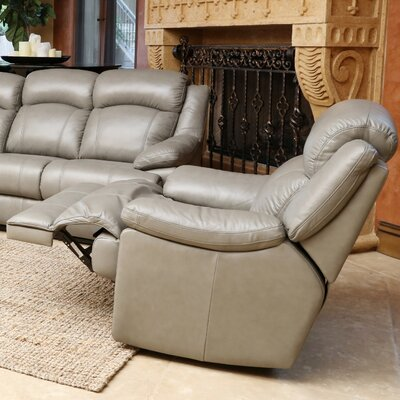 Beverly Top Grain Leather Recliner by Abbyson Living