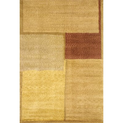 Abbyson Living Oceans of Time Himalayan Sheep Gold Indoor/Outdoor Area Rug