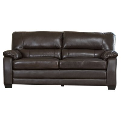Broadway Brookfield Italian Leather Loveseat by Abbyson Living