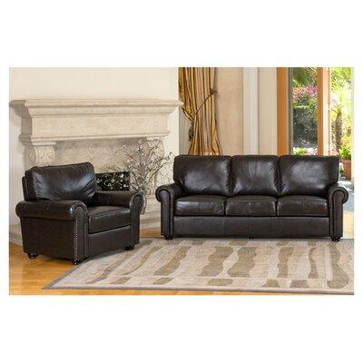 Abbyson Living Bliss Leather Sofa