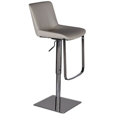 Celeb Adjustable Height Swivel Bar Stool with Cushion by Bellini Modern Living