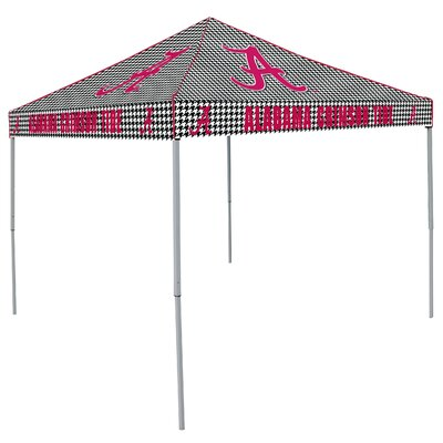 NCAA Alabama Houndstooth 9 Ft. W x 9 Ft. D Canopy by Logo Chairs