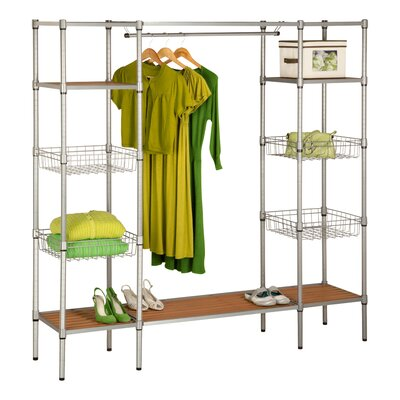 "68"" H x 67.5"" W x 16.26"" D Freestanding Steel Closet Product Photo"