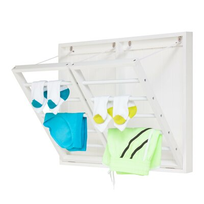 Horizontal Dual Wall Mount Drying Rack by Honey Can Do